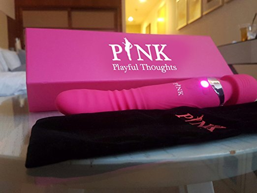 THE MAGIC ONE - The Perfect Combination of Thrusting Vibrator and Wand Massager